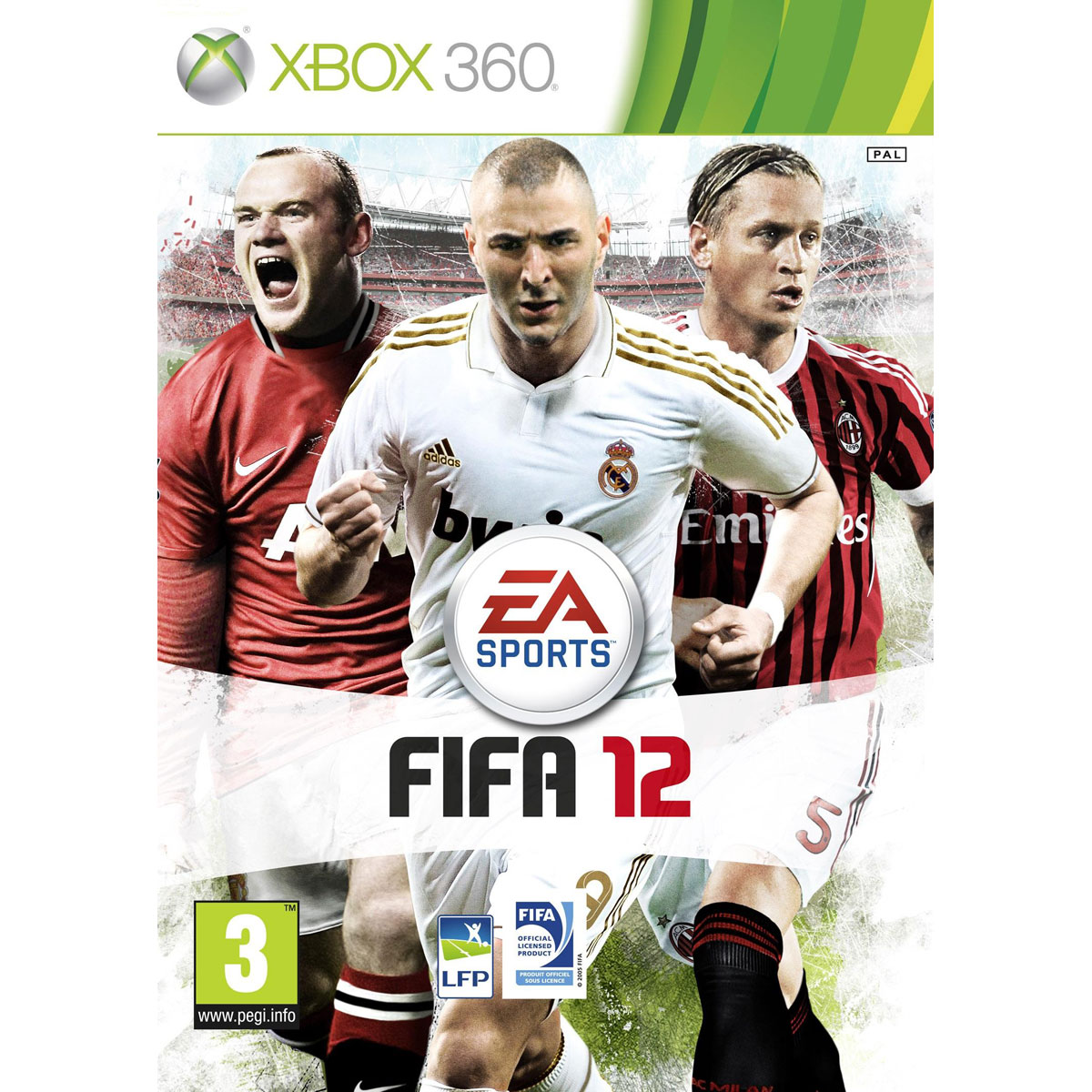 fifa 12 xbox 360 electronic arts sur. Black Bedroom Furniture Sets. Home Design Ideas