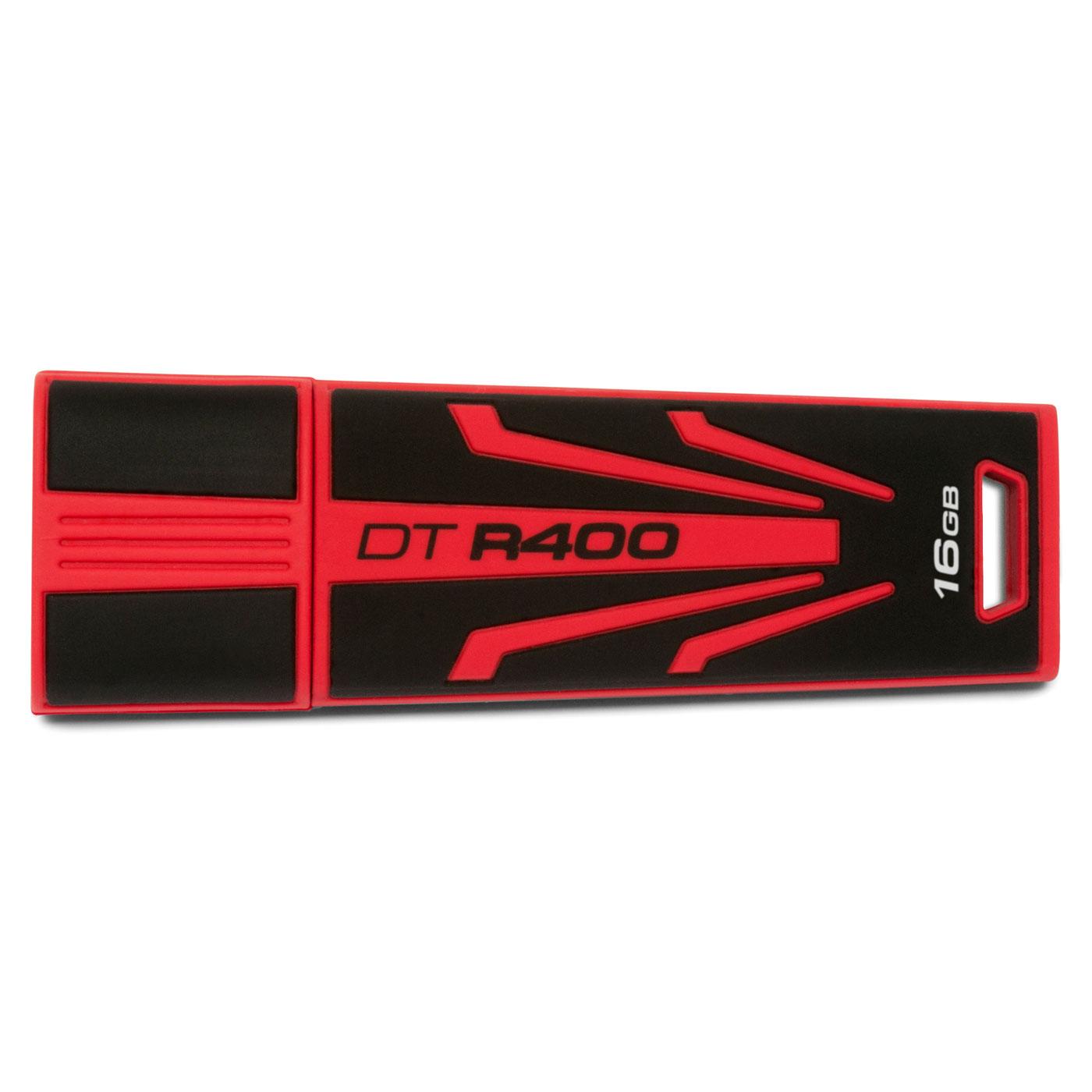 Clé USB Kingston DataTraveler R400 16 Go Clé USB 2.0 16 Go (garantie constructeur 5 ans)