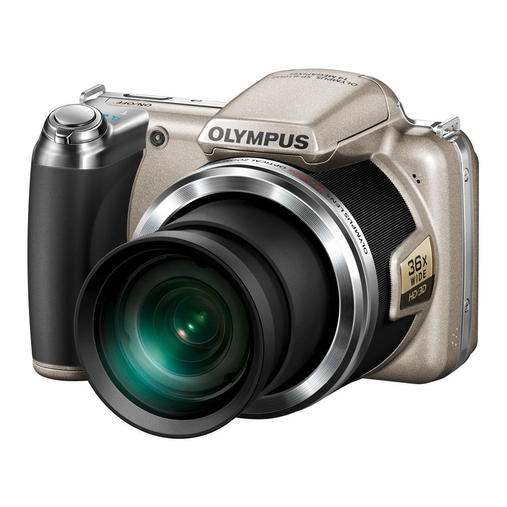 Appareil photo numérique Olympus SP-810UZ Argent Appareil photo 14 MP - Zoom 36x - Vidéo HD (garantie constructeur 2 ans)