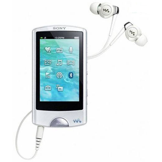 sony nwz a864 blanc lecteur mp3 ipod sony sur. Black Bedroom Furniture Sets. Home Design Ideas