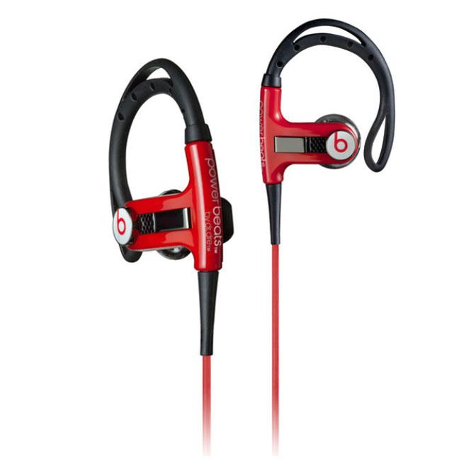 monster cable powerbeats sport rouge casque monster sur. Black Bedroom Furniture Sets. Home Design Ideas