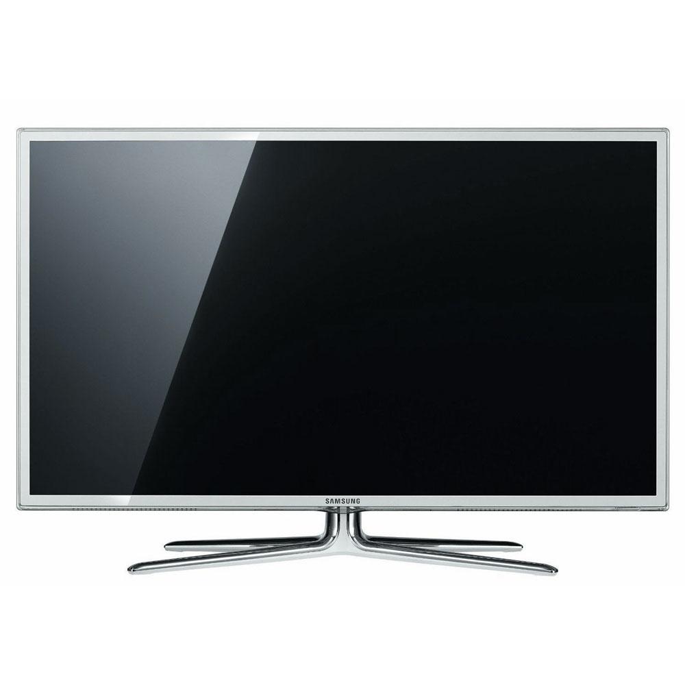 """TV Samsung UE40D6510 Blanc Téléviseur LED 3D Full HD 40"""" (102 cm) 16/9 - 1920 x 1080 pixels - TNT, Câble et Satellite HD - 400 Hz - DLNA Wi-Fi - PVR - HDTV 1080p"""