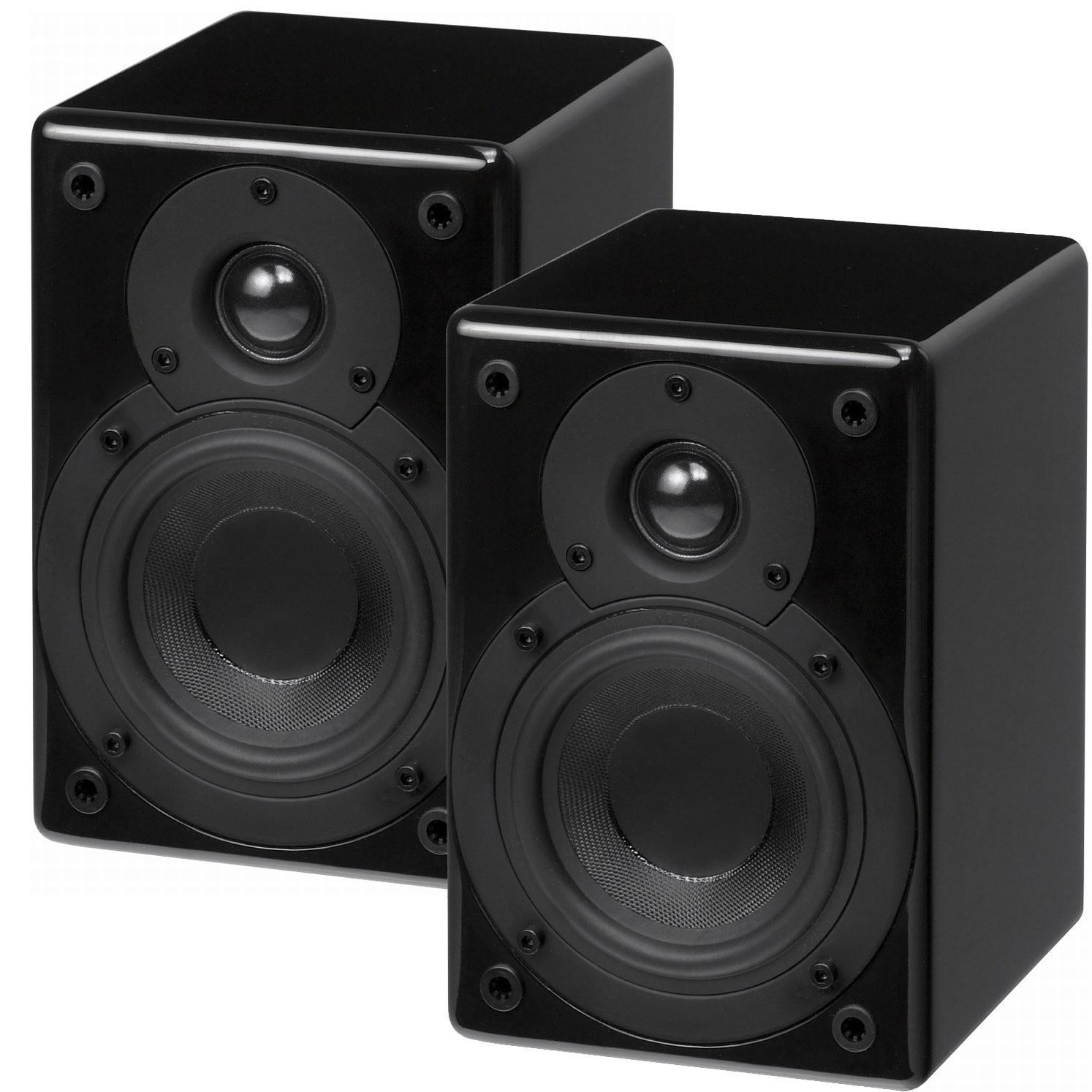 scansonic s4 noir par paire enceintes hifi scansonic sur. Black Bedroom Furniture Sets. Home Design Ideas
