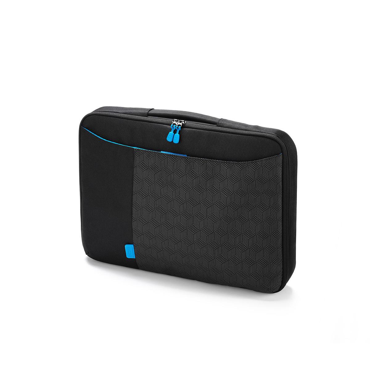 dicota bounce slimcase 13 14 coloris noir bleu sac sacoche housse dicota sur. Black Bedroom Furniture Sets. Home Design Ideas