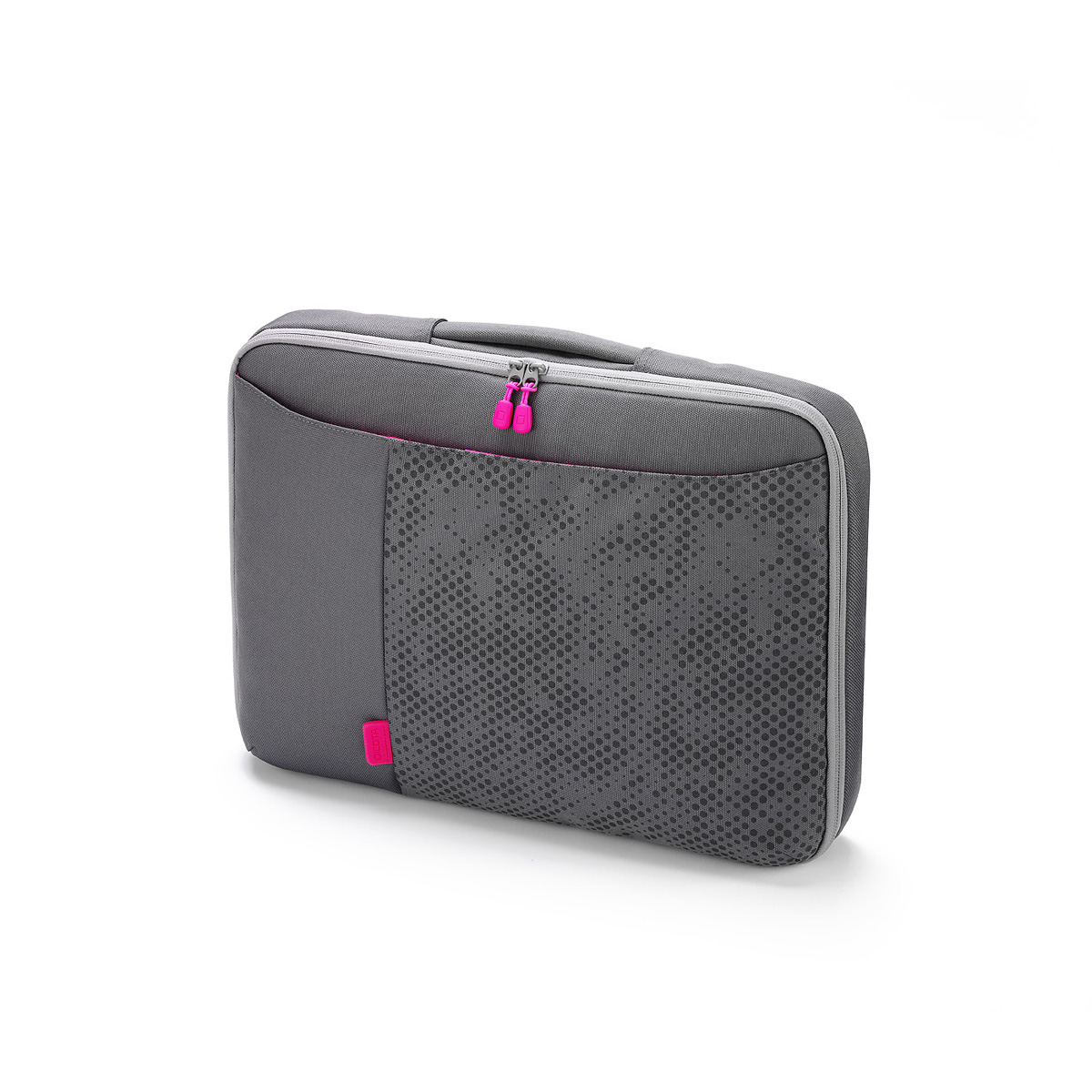 dicota bounce slimcase 15 16 coloris gris rose sac. Black Bedroom Furniture Sets. Home Design Ideas