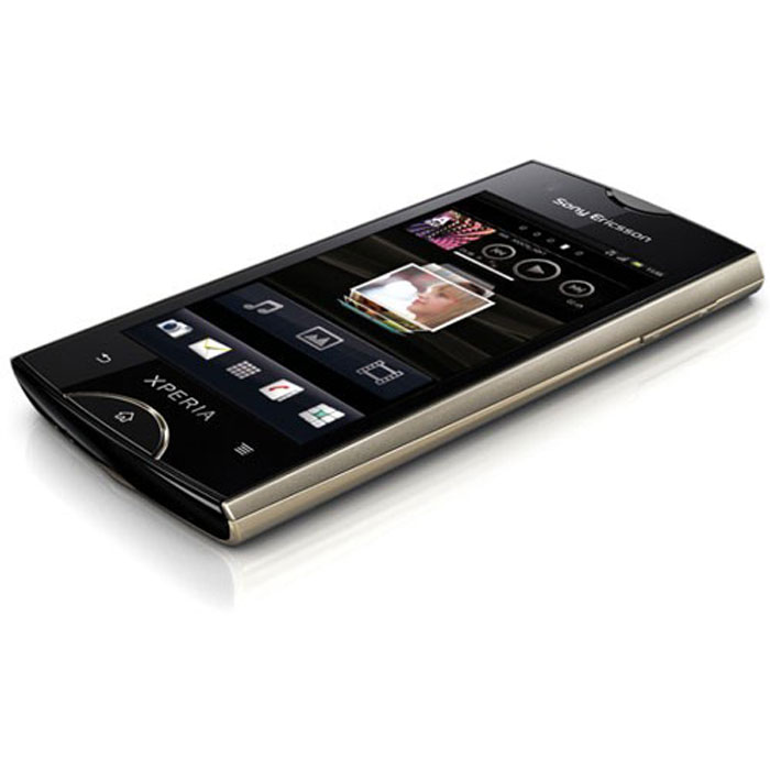 """Mobile & smartphone Sony Ericsson Xperia RAY Champagne Smartphone 3G+ avec écran tactile 3.3"""" sous Android 2.3"""