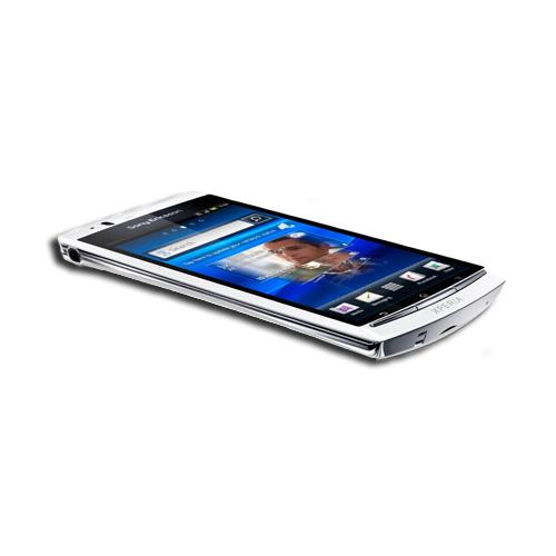 "Mobile & smartphone Sony Xperia Arc S Blanc Smartphone 3G+ avec écran tactile 4.2"" sous Android 2.3.4"