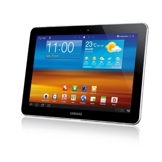 samsung galaxy tab gt p7310 16 go tablette tactile samsung sur. Black Bedroom Furniture Sets. Home Design Ideas