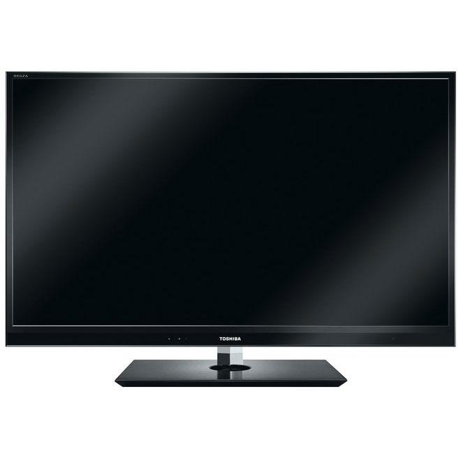 """TV Toshiba 46WL863 Noir Téléviseur LED 3D Full HD 46"""" (117 cm) 16/9 - 1920 x 1080 pixels - Tuners TNT HD, Satellite HD et Câble HD - 3D Active - WiFi - DLNA - HDTV 1080p"""