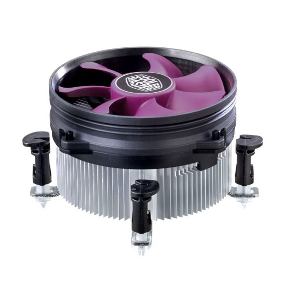 Ventilateur processeur Cooler Master X Dream i117 Ventilateur pour processeur Low Profile (pour socket Intel 775 / 1150/1151/1155 / 1156)