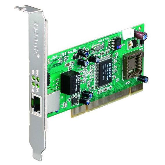 Carte réseau D-Link DGE-528T Carte PCI Gigabit cuivre 10/100/1000 Mbps