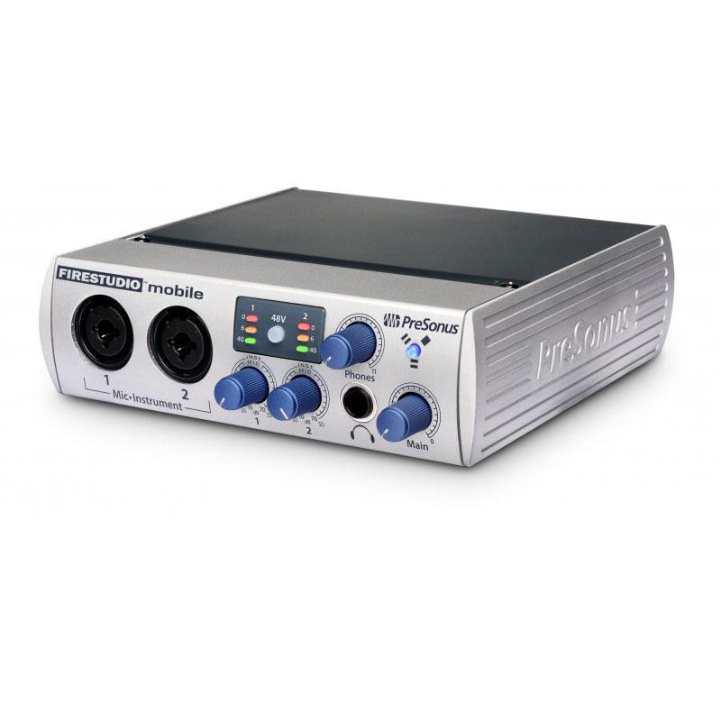 Interface Audio Presonus FireStudio Mobile Interface audio/MIDI FireWire 8 x 4 avec préamplis