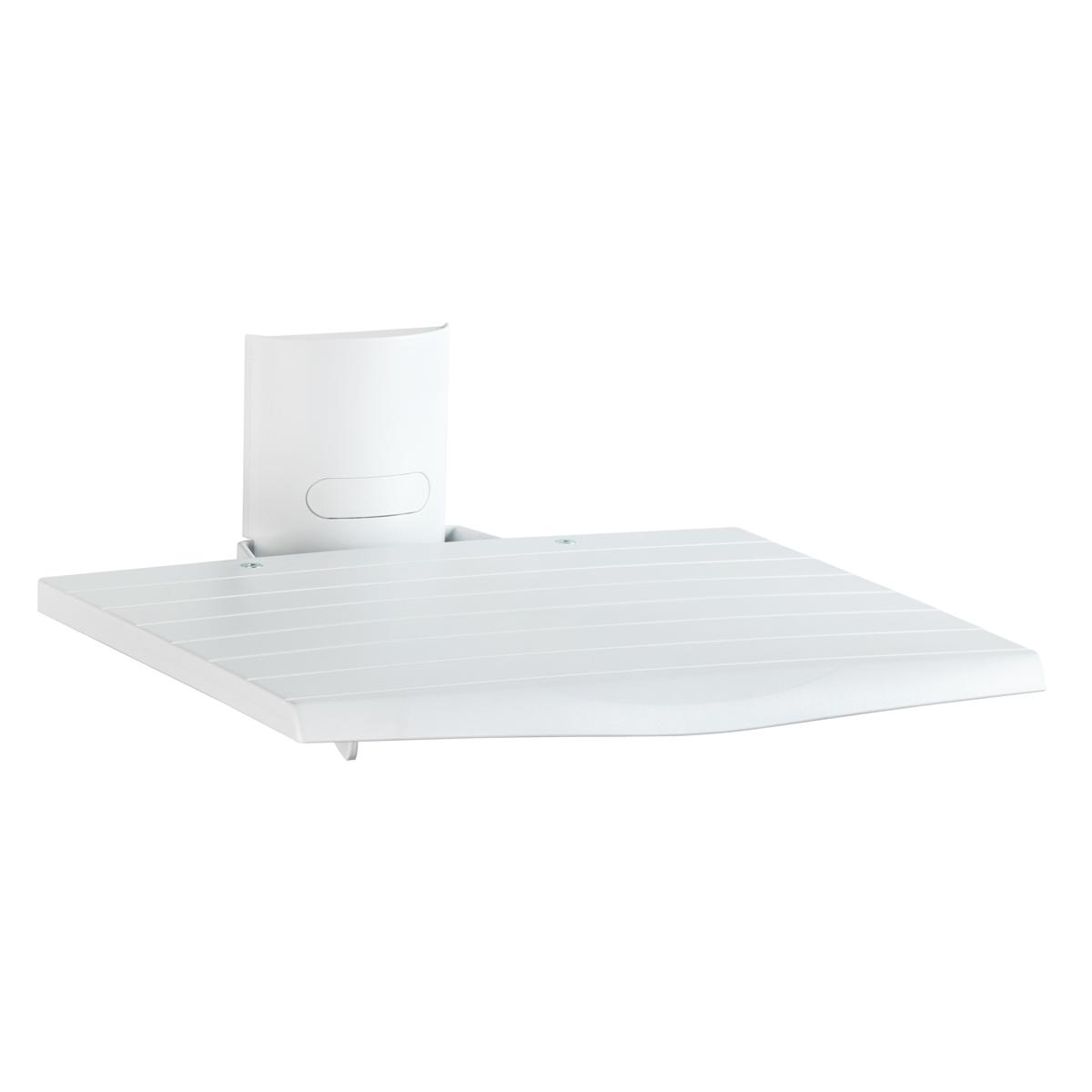 Meliconi av support blanc meuble tv meliconi sur - Support tv mural blanc ...