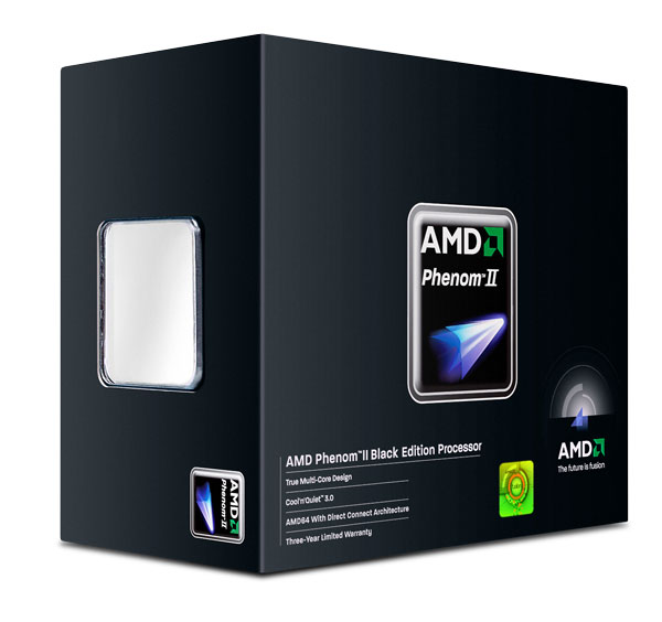 Processeur AMD Phenom II X4 980 Black Edition (3.7 GHz) Processeur Quad Core Socket AM3 0.045 micron Cache L2 2 Mo Cache L3 6 Mo - Stepping C3 (version boîte - garantie constructeur 3 ans)