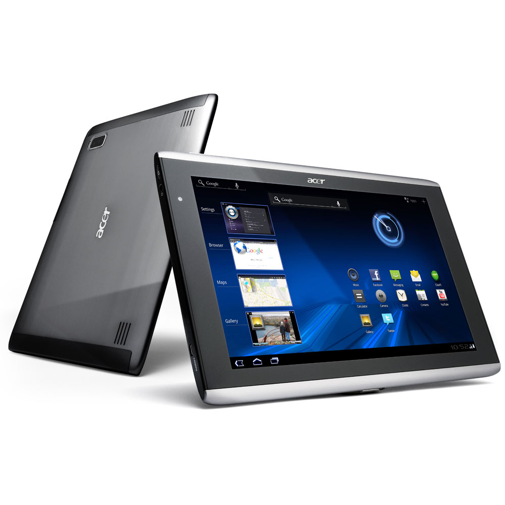 acer iconia tab a501 tablette tactile acer sur. Black Bedroom Furniture Sets. Home Design Ideas