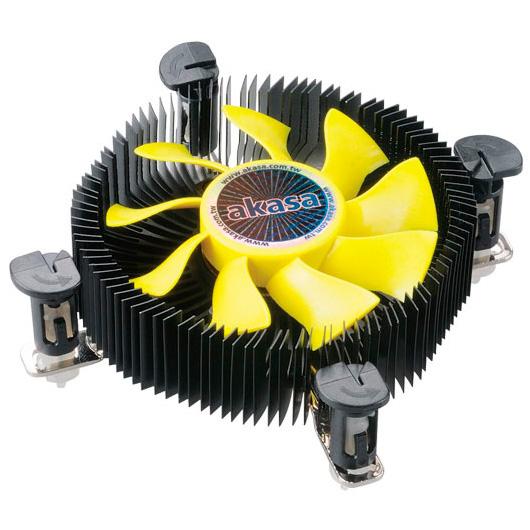 Ventilateur processeur Akasa K25 Ventilateur de processeur Low Profile (pour Socket 775/1150/1151/1155/1156)