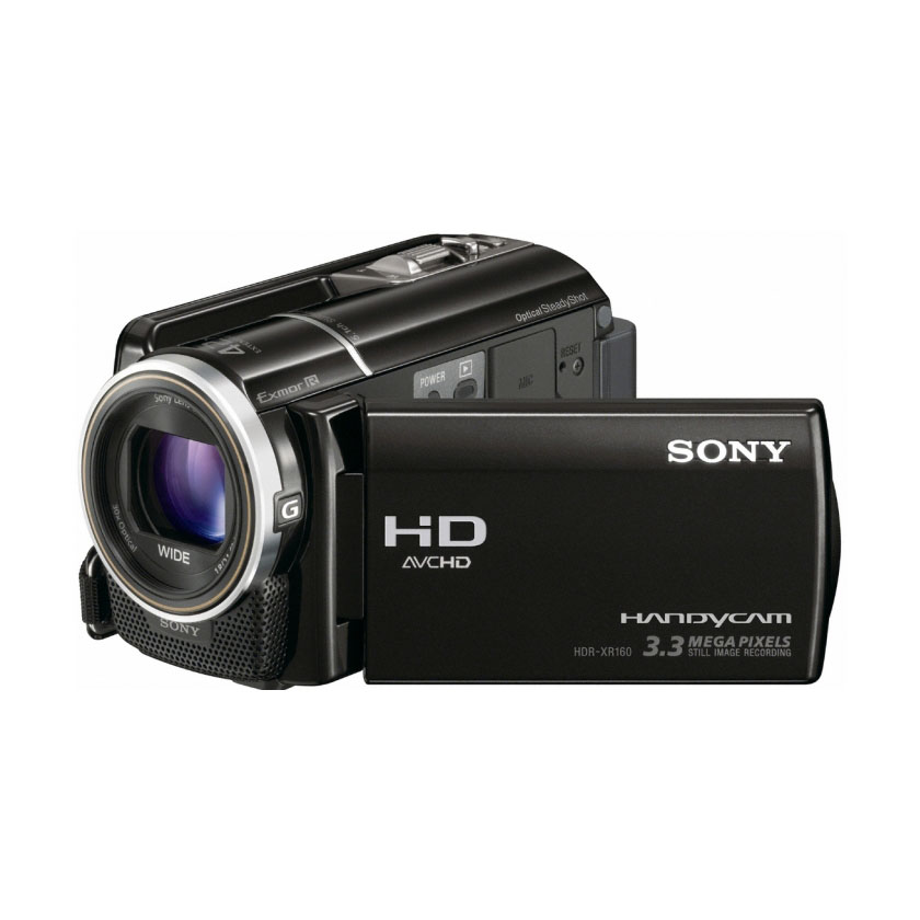 sony hdr xr160 cam scope num rique sony sur. Black Bedroom Furniture Sets. Home Design Ideas