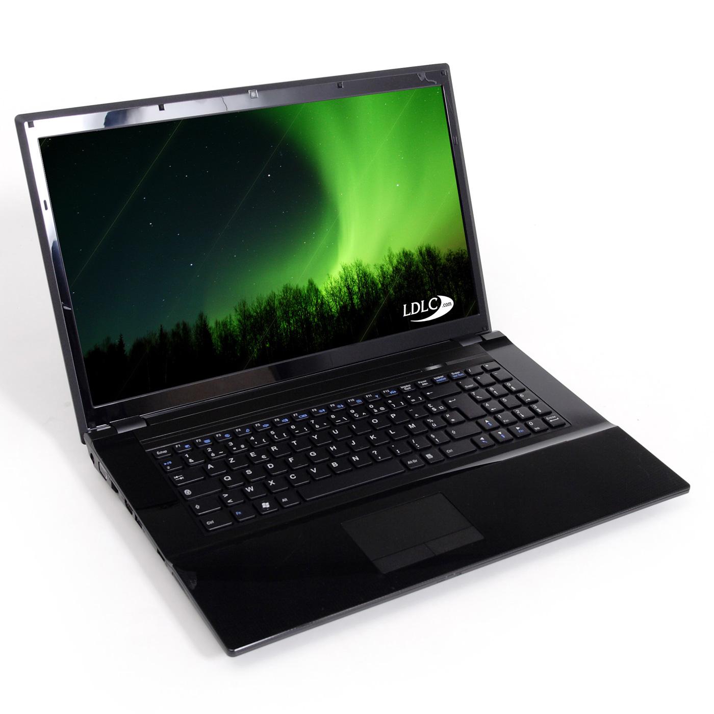 "PC portable LDLC Aurore BG1-I5-8-H5 Intel Core i5-2430M 8 Go 500 Go 17.3"" LED Graveur DVD Wi-Fi N/Bluetooth Webcam (sans OS)"