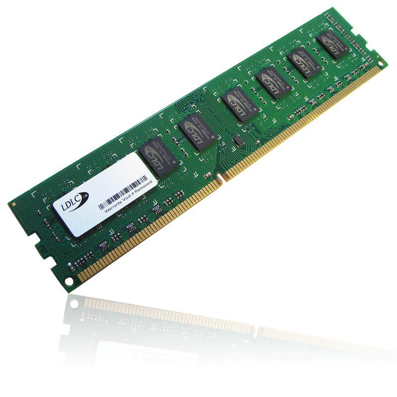 Mémoire PC LDLC 4 Go DDR3 1600 MHz CL11 RAM DDR3 PC12800