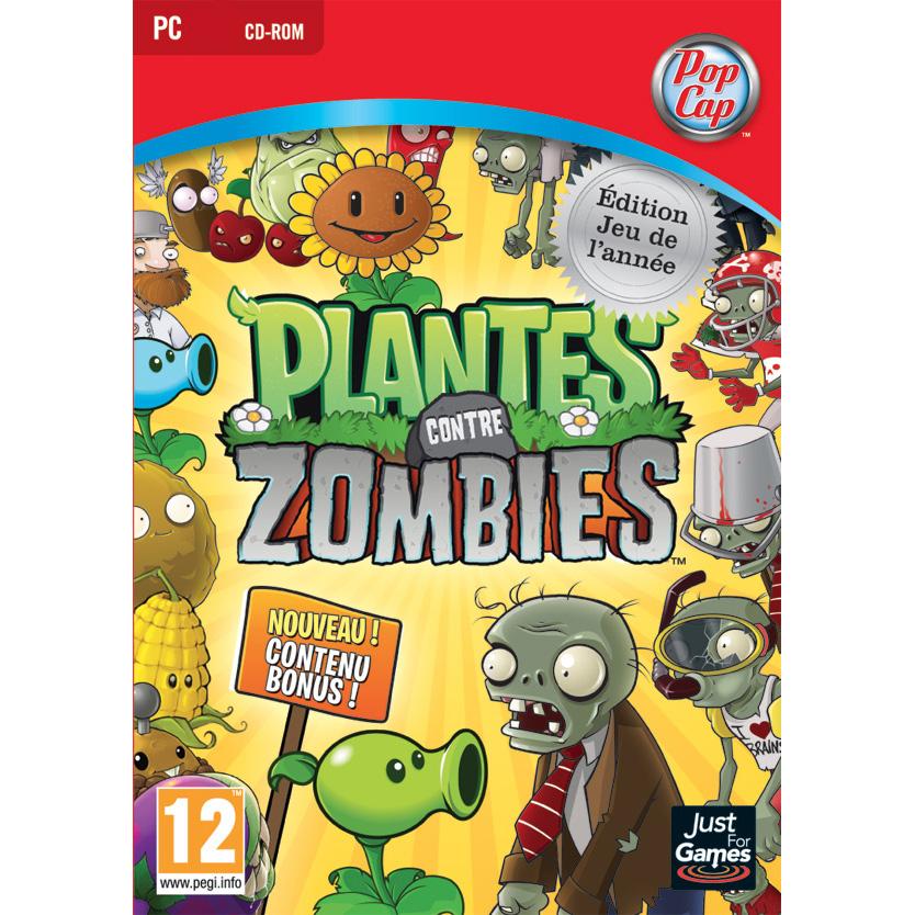 plantes vs zombies goty pc jeux pc just for games sur. Black Bedroom Furniture Sets. Home Design Ideas