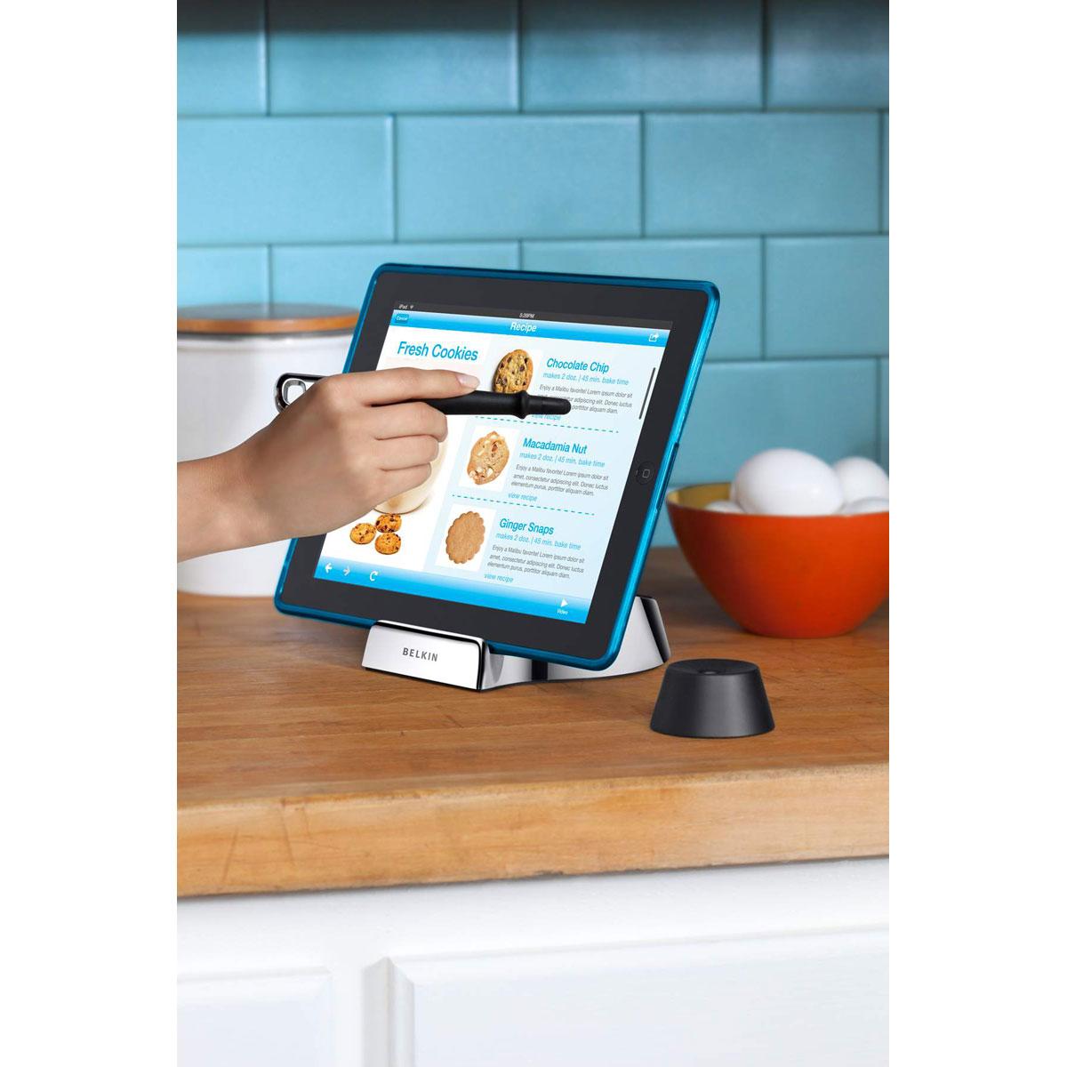 belkin chef stand support tablette belkin sur. Black Bedroom Furniture Sets. Home Design Ideas