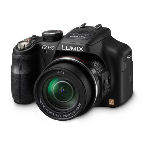 Appareil photo numérique Panasonic Lumix DMC-FZ150 Appareil photo 12,1 MP - Zoom 24x - Vidéo Full HD - Mode 3D