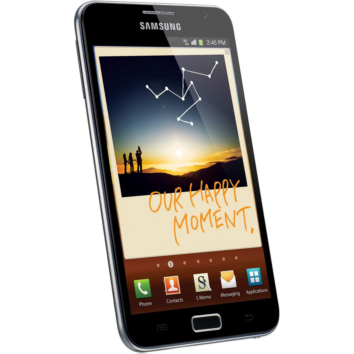 """Mobile & smartphone Samsung Galaxy Note GT-N7000 Smartphone 3G+ avec écran tactile 5.3"""" Super AMOLED HD sous Android 2.3"""