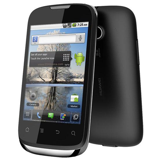 """Mobile & smartphone Huawei Sonic U8650 Noir Smartphone 3G+ avec écran tactile 3.5"""" sous Android 2.3"""