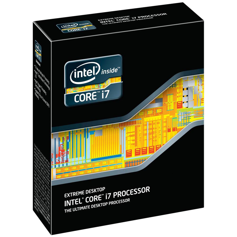 Processeur Intel Core i7-3970X (3.5 GHz) - Extreme Edition Processeur 6 Core Socket 2011 Cache L3 15 Mo 0.032 micron TDP 150W (version boîte sans ventilateur - garantie Intel 3 ans)