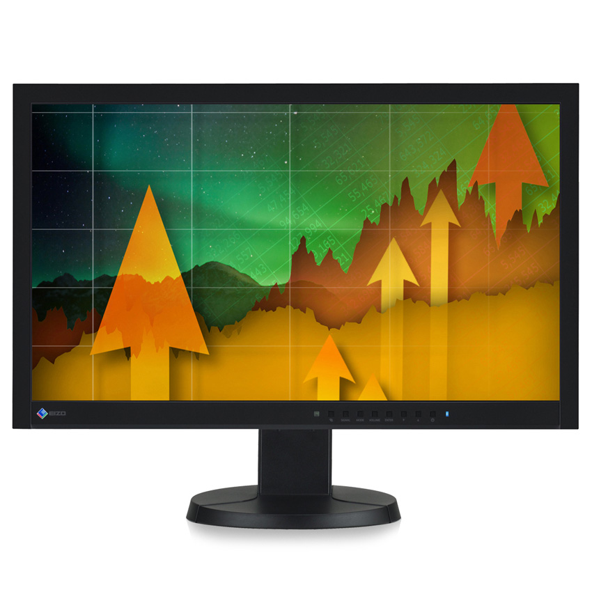 "Ecran PC EIZO 23"" LED - FlexScan EV2335W 1920 x 1080 pixels - 6 ms (gris à gris) - Format large 16/9 - Dalle IPS - DisplayPort - Noir"