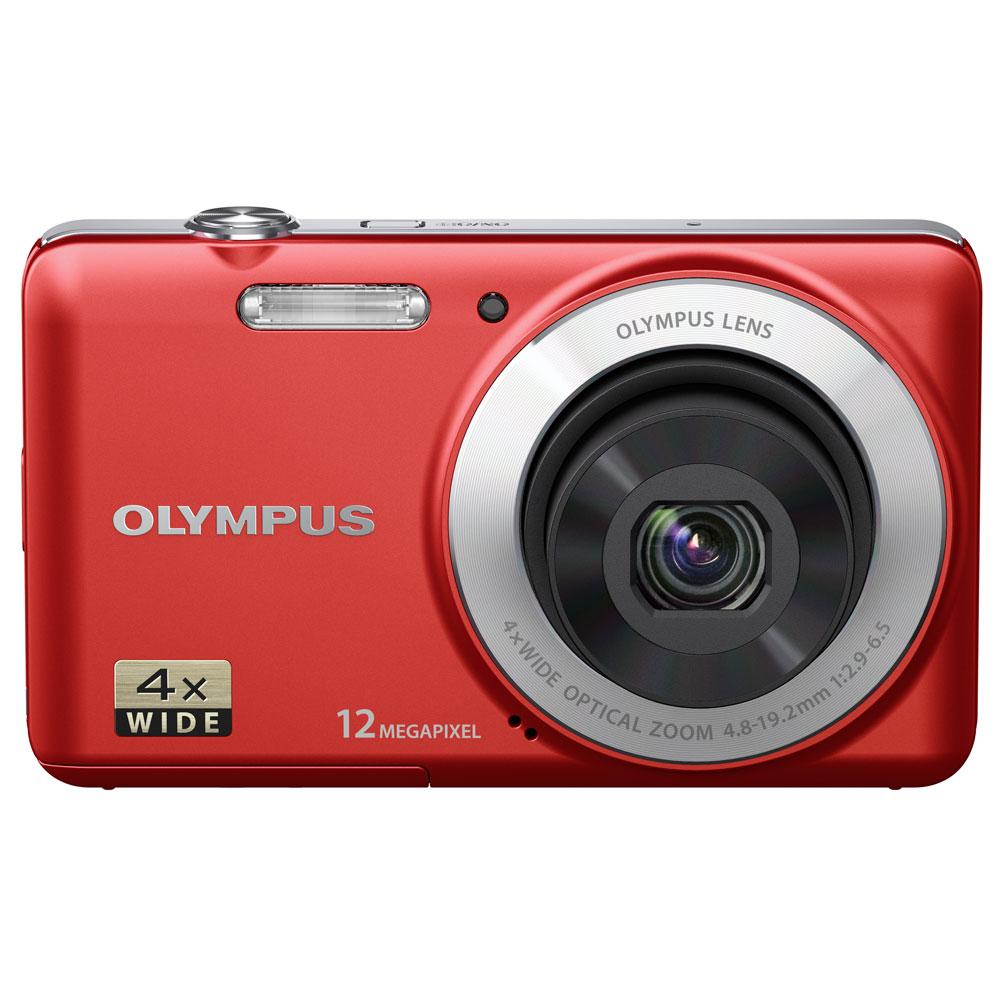 olympus vg 110 rouge appareil photo num rique olympus. Black Bedroom Furniture Sets. Home Design Ideas