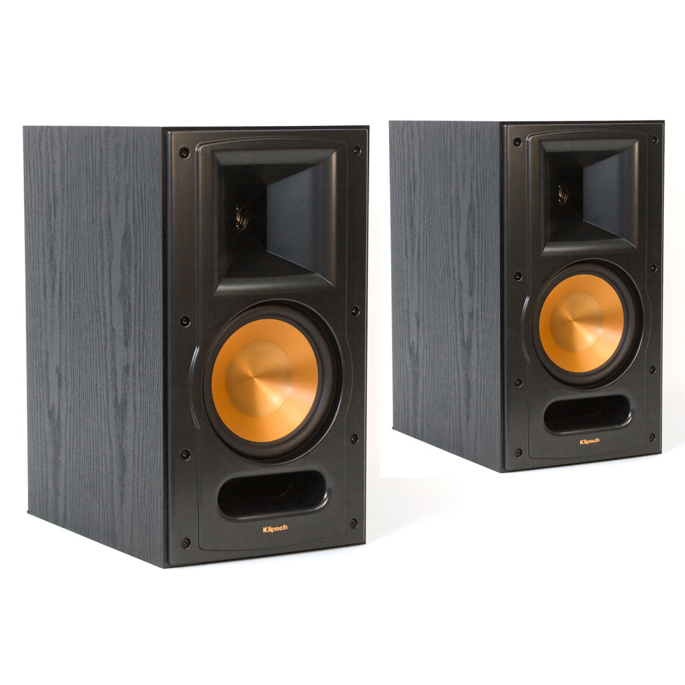 klipsch rb 61 mkii noir par paire enceintes hifi. Black Bedroom Furniture Sets. Home Design Ideas