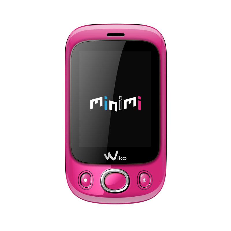 wiko minimi rose mobile smartphone wiko sur. Black Bedroom Furniture Sets. Home Design Ideas