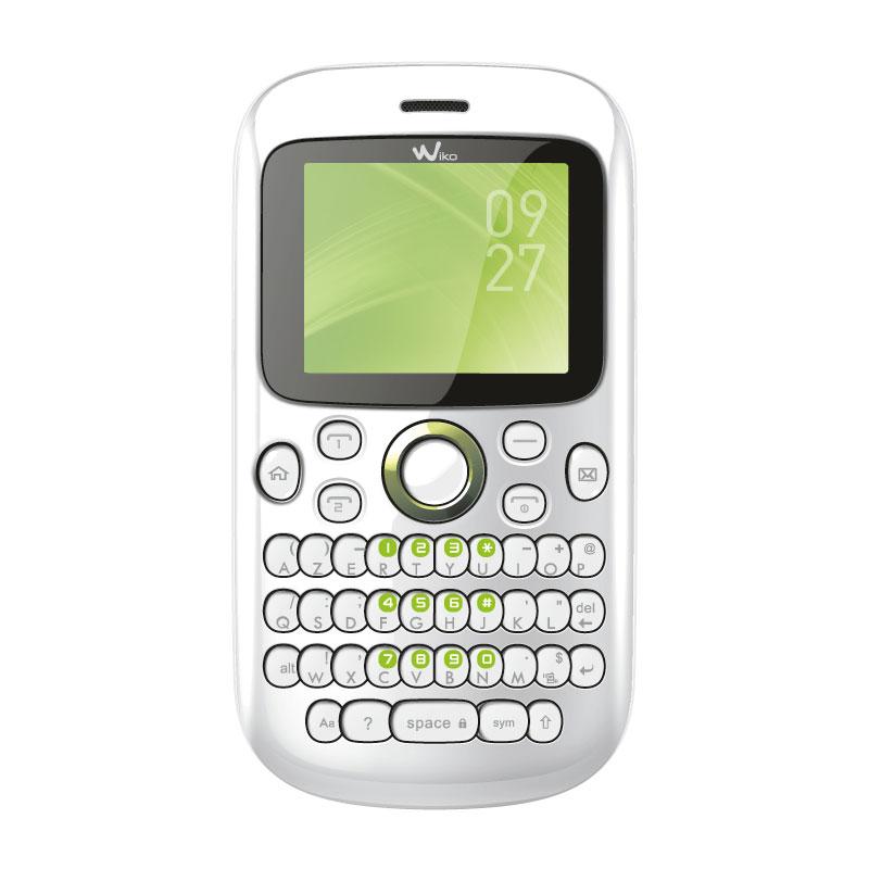 wiko minz blanc mobile smartphone wiko sur. Black Bedroom Furniture Sets. Home Design Ideas