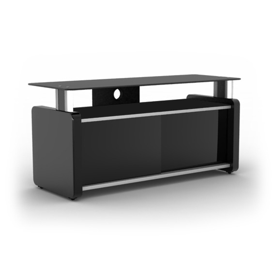 elmob karya ka 105 02 noir meuble tv elmob sur. Black Bedroom Furniture Sets. Home Design Ideas