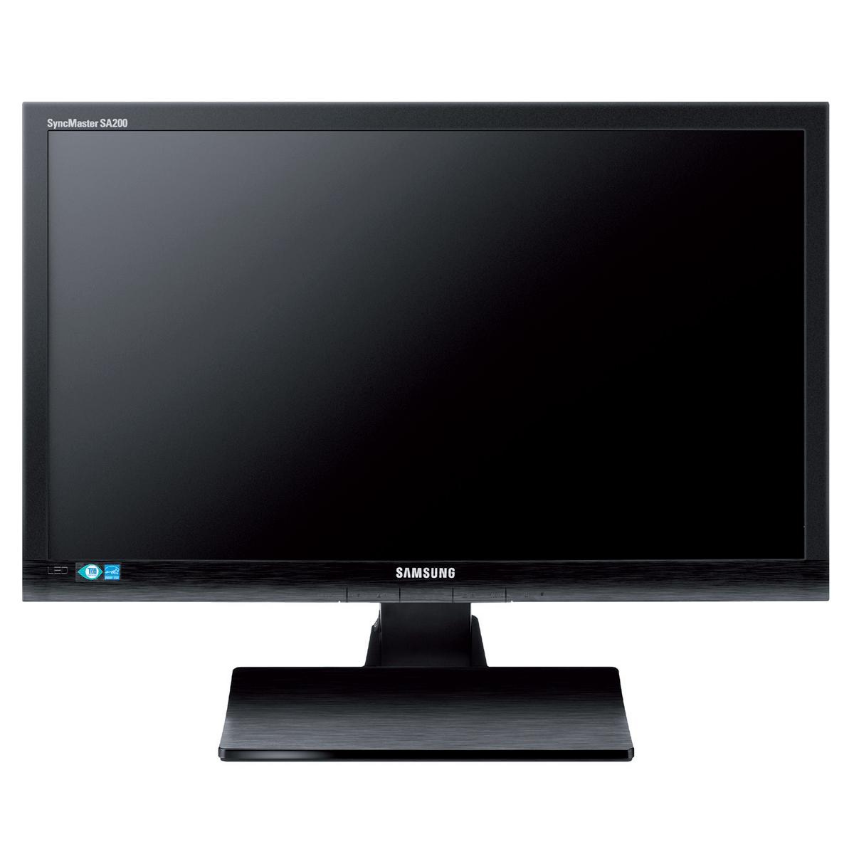 """Ecran PC Samsung 21.5"""" LED - SyncMaster S22A200B 1920 x 1080 pixels - 5 ms - Format large 16/9 - Noir"""