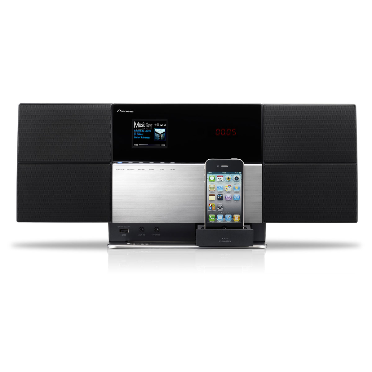 pioneer x smc5 argent cha ne hifi pioneer sur. Black Bedroom Furniture Sets. Home Design Ideas