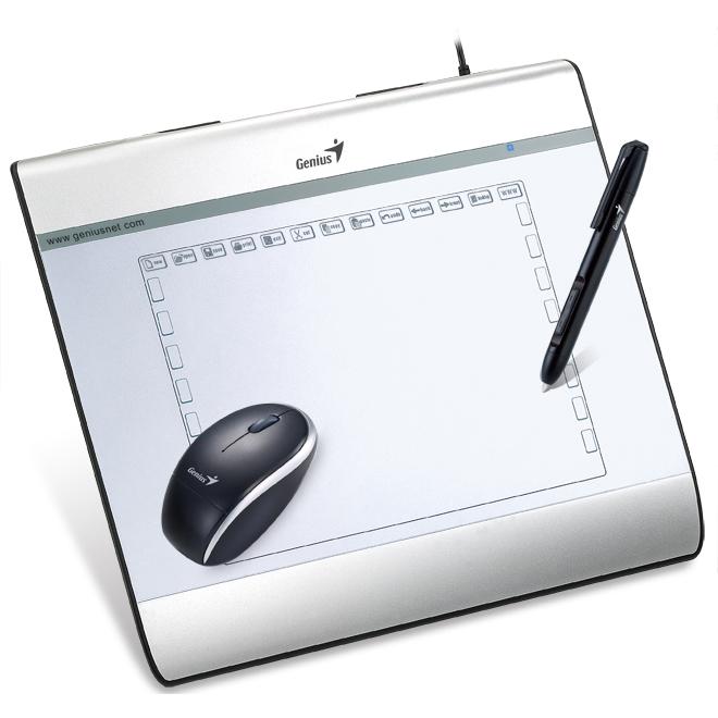 genius mousepen i608x tablette graphique genius sur. Black Bedroom Furniture Sets. Home Design Ideas