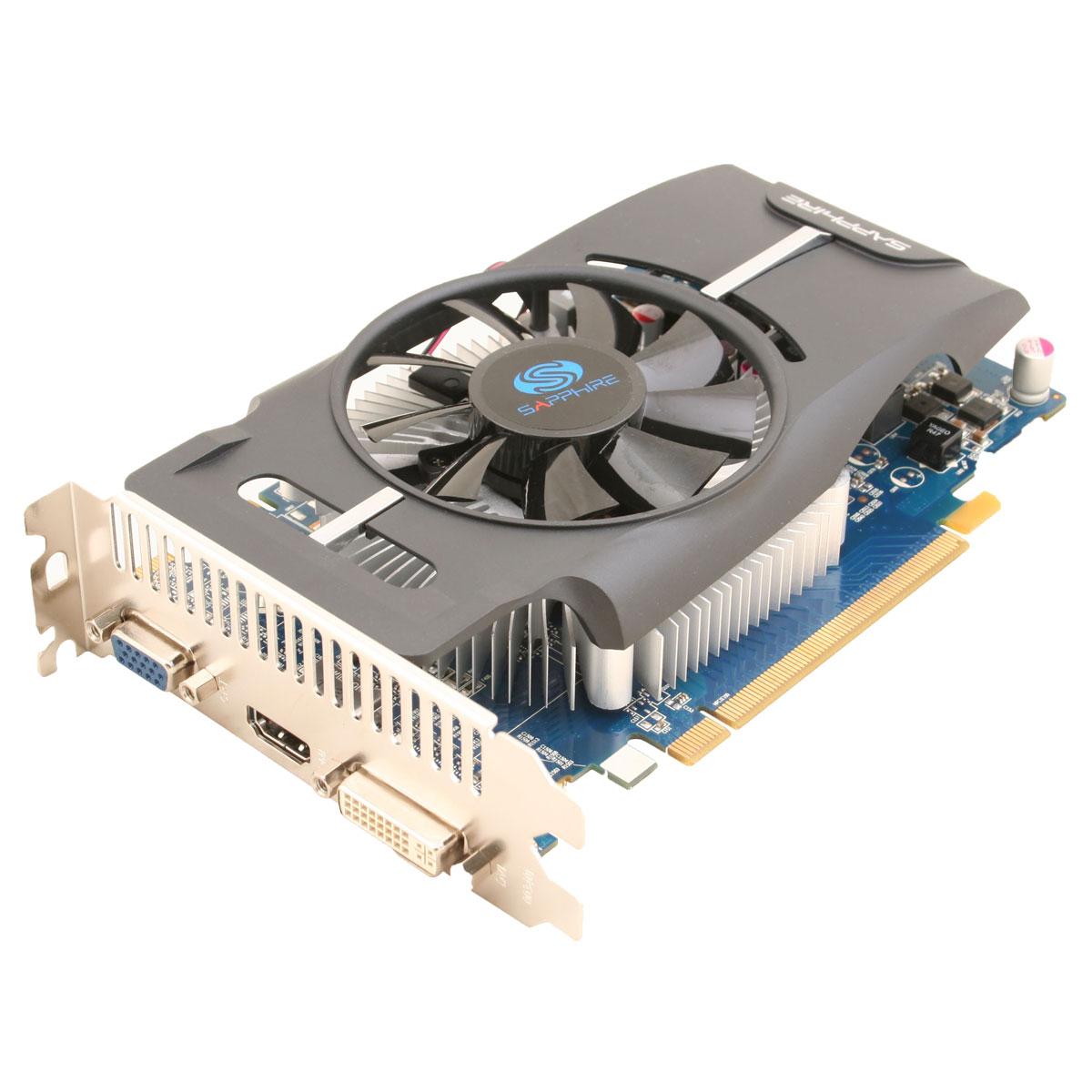Carte graphique Sapphire Radeon HD 6770 1 Go 1 Go HDMI/DVI - PCI Express (AMD Radeon HD 6770)