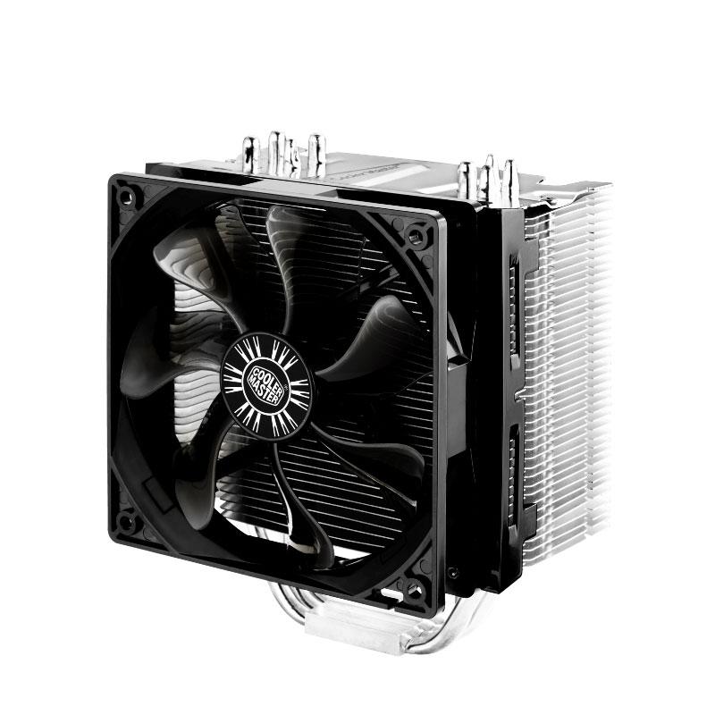 Ventilateur processeur Cooler Master Hyper 412S Ventilateur pour processeur (pour socket Intel 775 / 1150/1151/1155 / 1156 / 1366 / 2011 et AMD AM2 / AMD 2+ / AM3 / FM1)