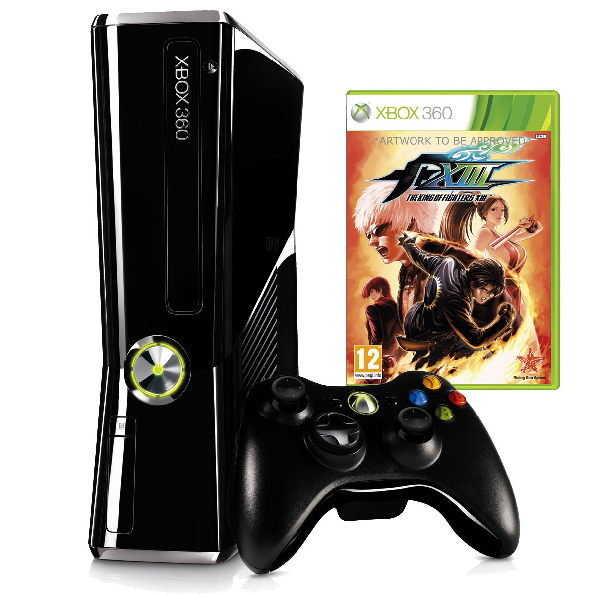 Console de jeux Microsoft Xbox 360 Slim 250 Go + King Of Fighters XIII Microsoft Xbox 360  + King Of Fighters XIII