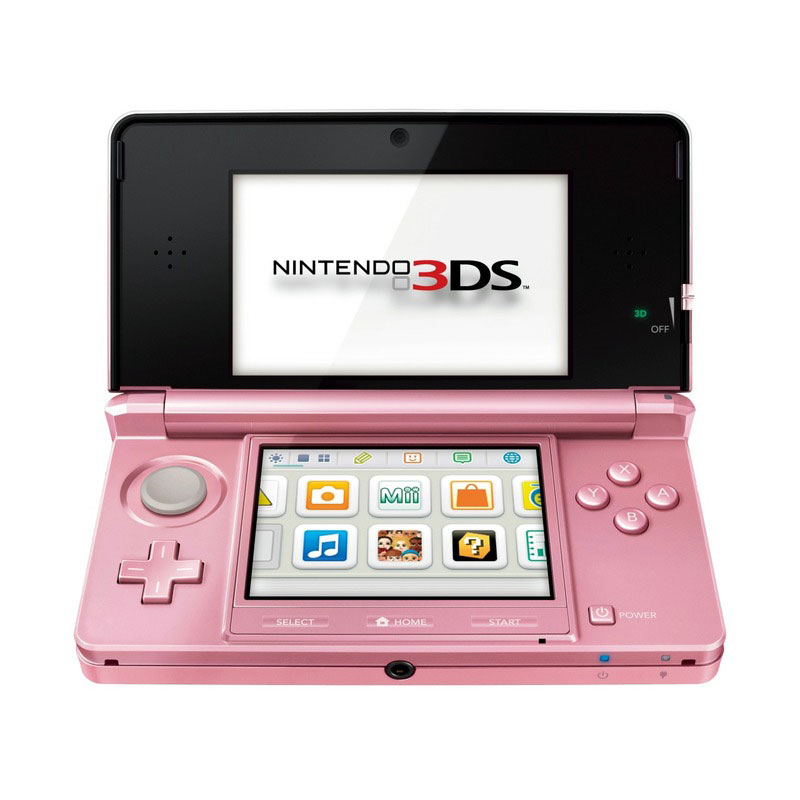 nintendo 3ds rose corail console nintendo 3ds nintendo. Black Bedroom Furniture Sets. Home Design Ideas