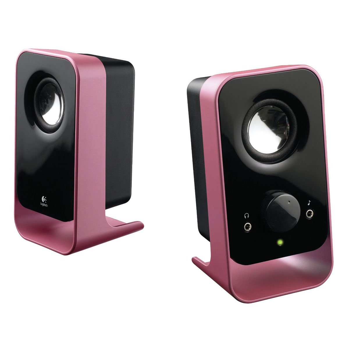 logitech ls11 rose enceinte pc logitech sur. Black Bedroom Furniture Sets. Home Design Ideas