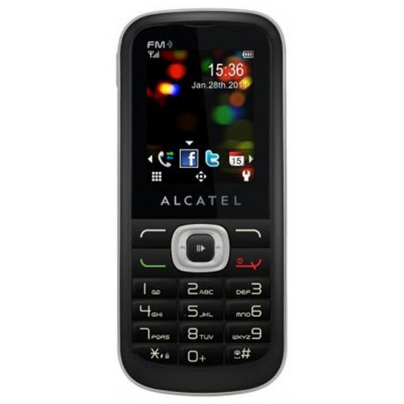 alcatel ot 506d noir mobile smartphone alcatel sur. Black Bedroom Furniture Sets. Home Design Ideas