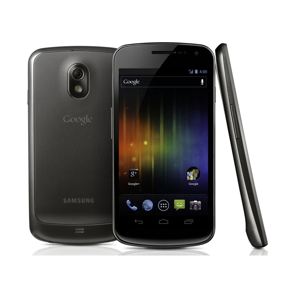 "Mobile & smartphone Samsung Galaxy Nexus GT-i9250 Smartphone 3G+ avec écran tactile HD 4.65"" Super AMOLED HD sous Android 4.0"