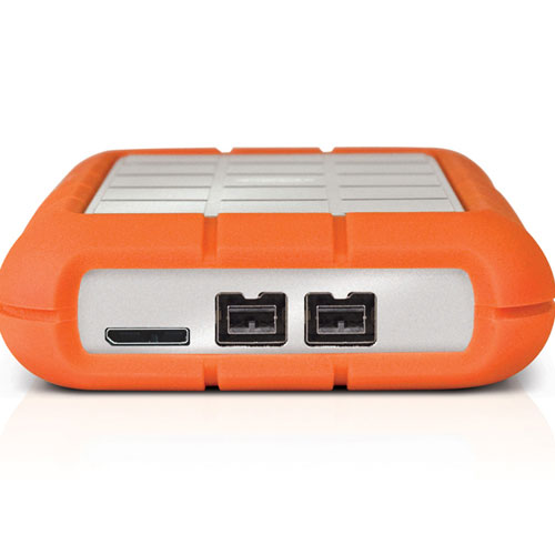 lacie rugged triple 500 go usb 3 0 2x firewire 800. Black Bedroom Furniture Sets. Home Design Ideas