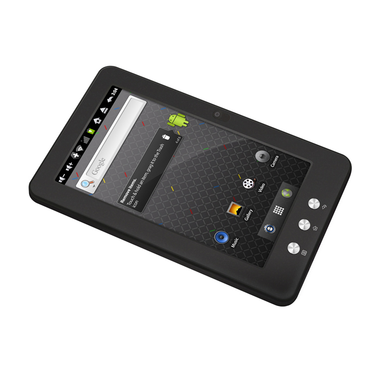 """Tablette tactile MPMAN MID7C Tablette Internet - ARM 800 MHz 256 Mo 4 Go 7"""" LCD tactile Wi-Fi N Androïd 2.3"""