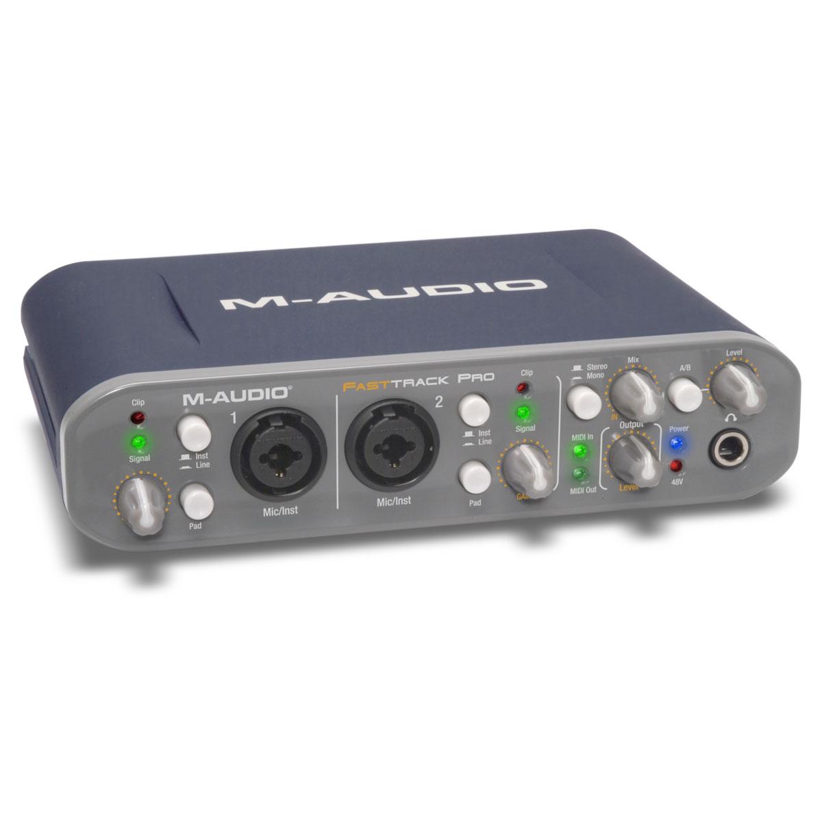 m audio fast track pro pro tools se interface audio m. Black Bedroom Furniture Sets. Home Design Ideas