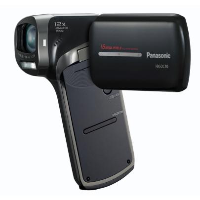 Caméscope numérique Panasonic HX-DC10 Noir Caméscope vertical Full HD Carte mémoire