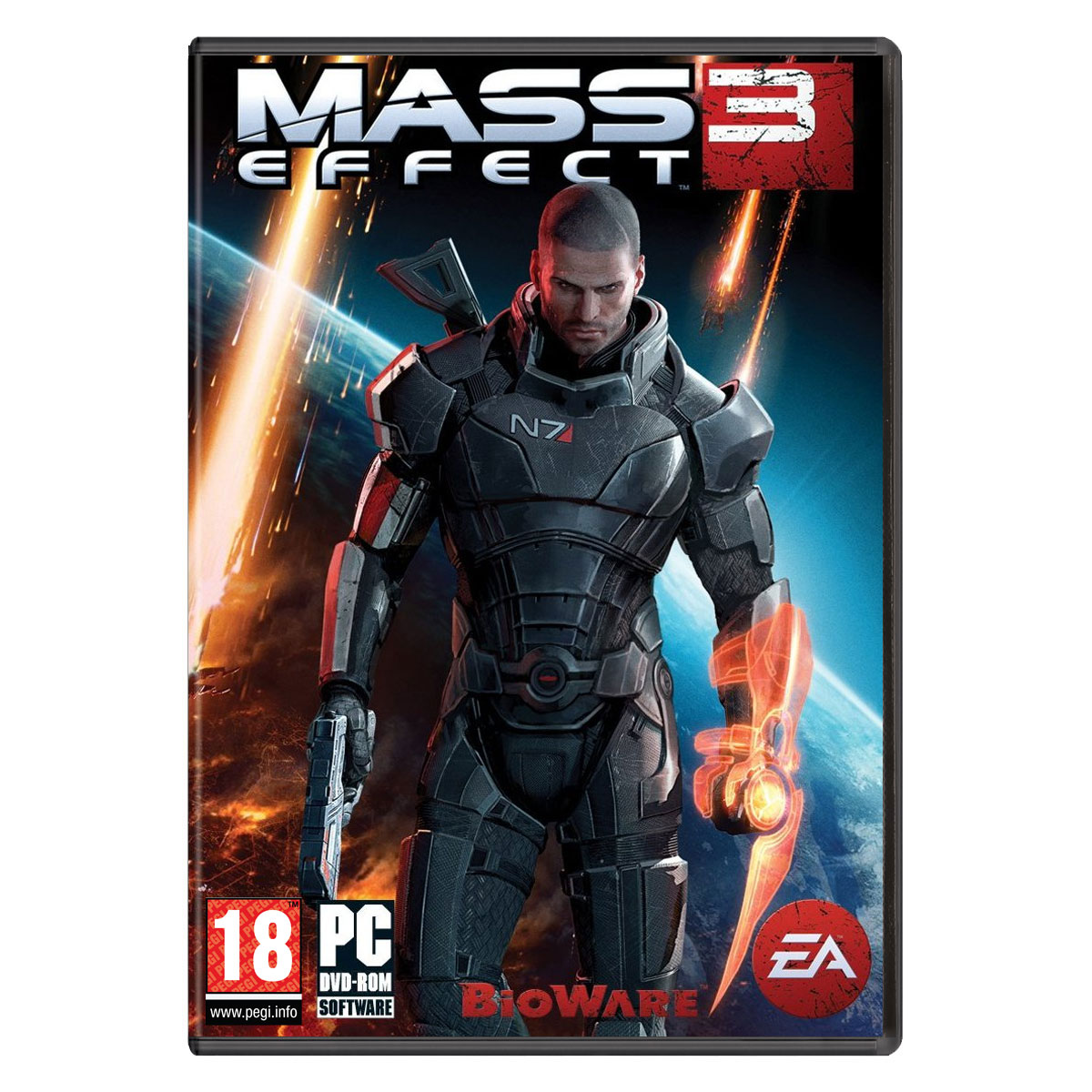 Jeux PC Mass Effect 3 - Edition Collector N7 (PC) Mass Effect 3 - Edition Collector N7 (PC)